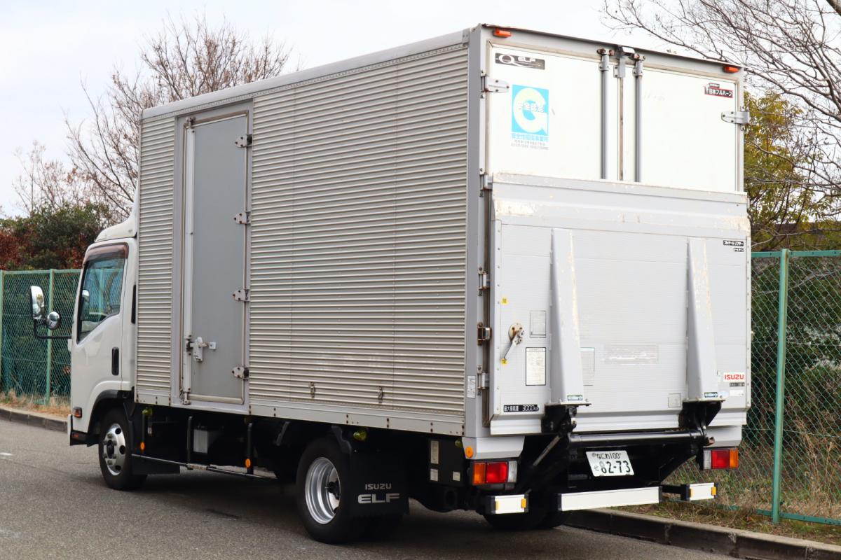 中古トラック H23年式 ワイドロング 検査付 アルミバンゲート