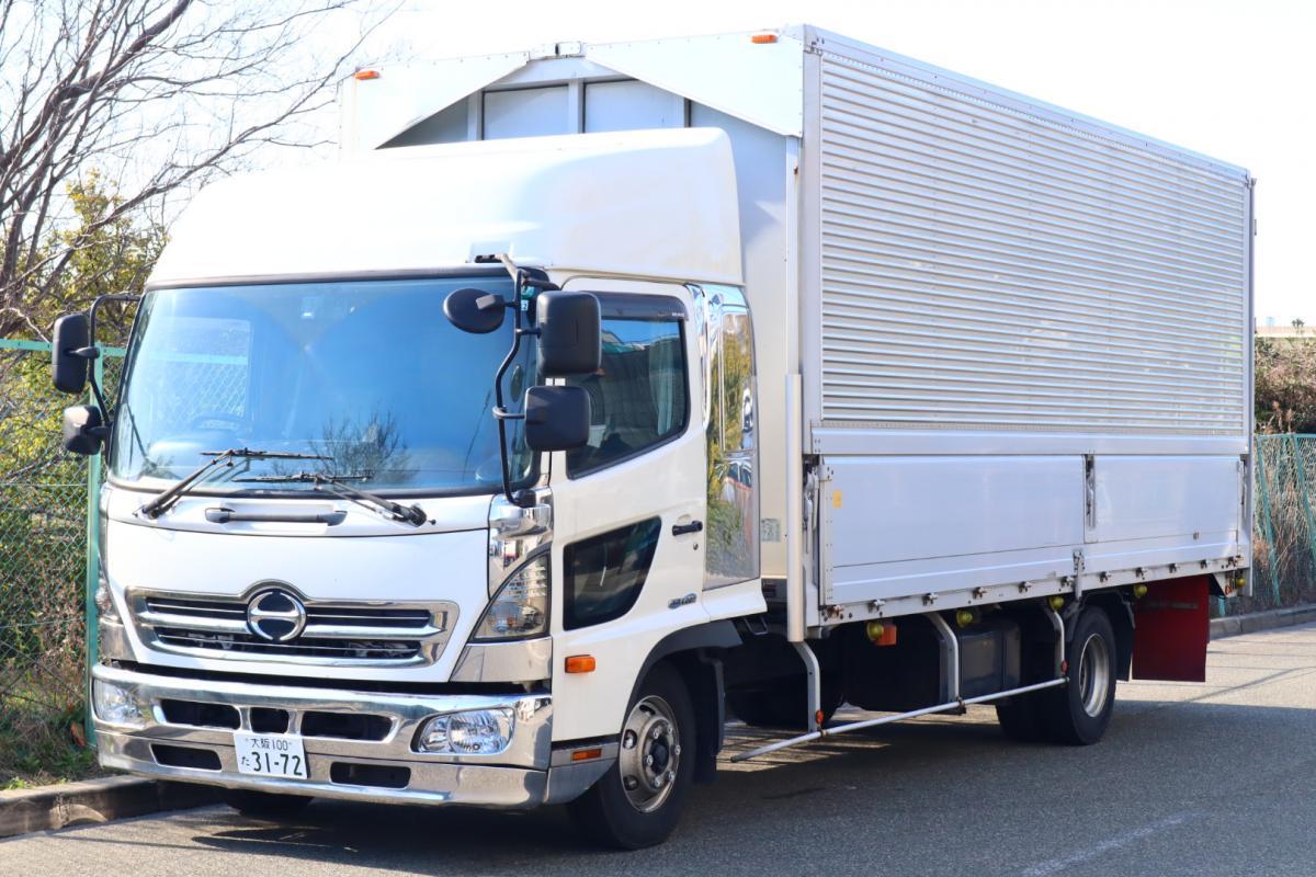 中古トラック H26年式 ワイドハイルーフベット付 検査付 6.2m ウイング