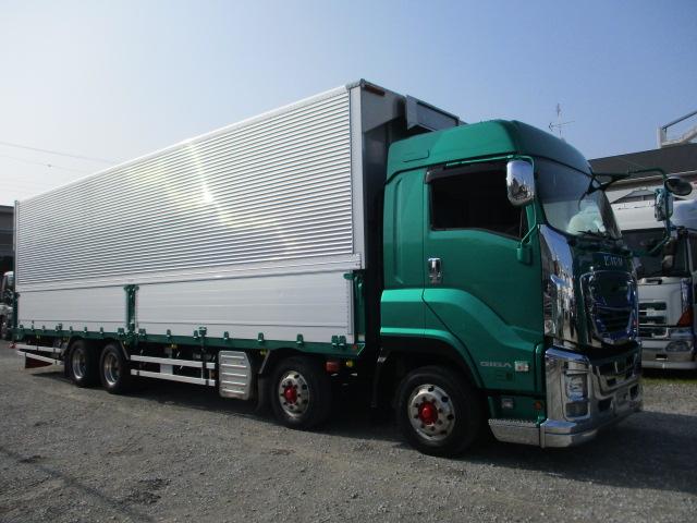 中古トラック 【動画】H29年 いすゞ 4軸ウイング 7速 メッキ ハイルーフ