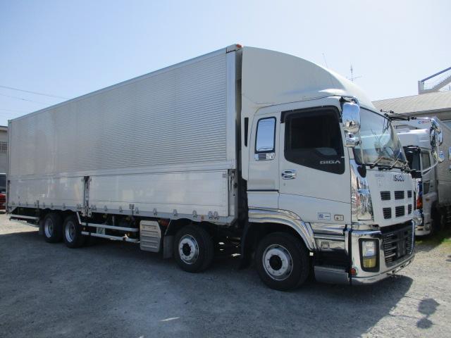 中古トラック 【動画】H25年 いすゞ 4軸ウイング 36万キロ エアサス 車検付