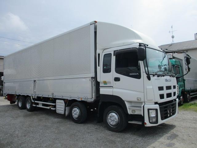 中古トラック 【動画】H25年 いすゞ 4軸ウイング 55万キロ 後輪エアサス