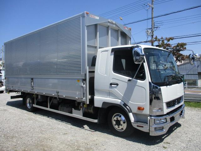 中古トラック 【動画】H30年 三菱 4tアルミウイング 19万キロ ワイド 車検付