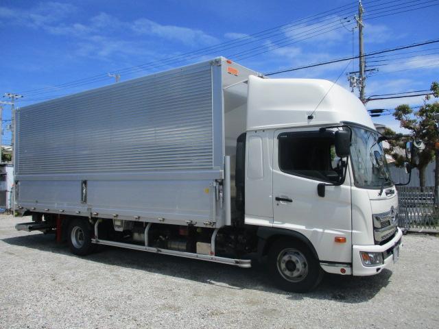中古トラック 【動画】H30年 日野 4tウイング 21万キロ ハイルーフ ワイド P/G