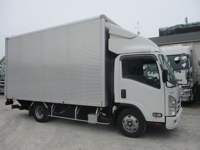 中古トラック 【動画】H30年 いすゞアルミバン ワイド 跳ね上げパワーゲート