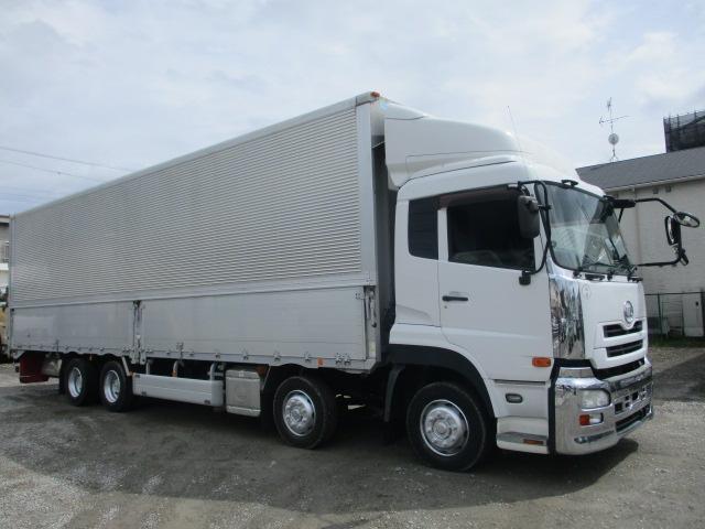 中古トラック 【動画】H25年 UD4軸ウイング 走行32万キロ エアサス エスコット