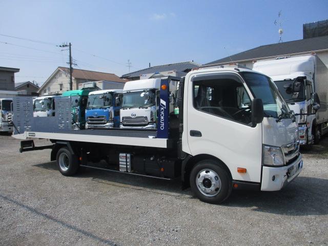 中古トラック 【動画】R3年 日野 2.9t積載車 ハイグレード 未使用 車検付